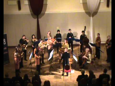Hellendaal Concerto Grosso op. 3 no. 1 :Ton Koopman and  EU Baroque Orchestra live