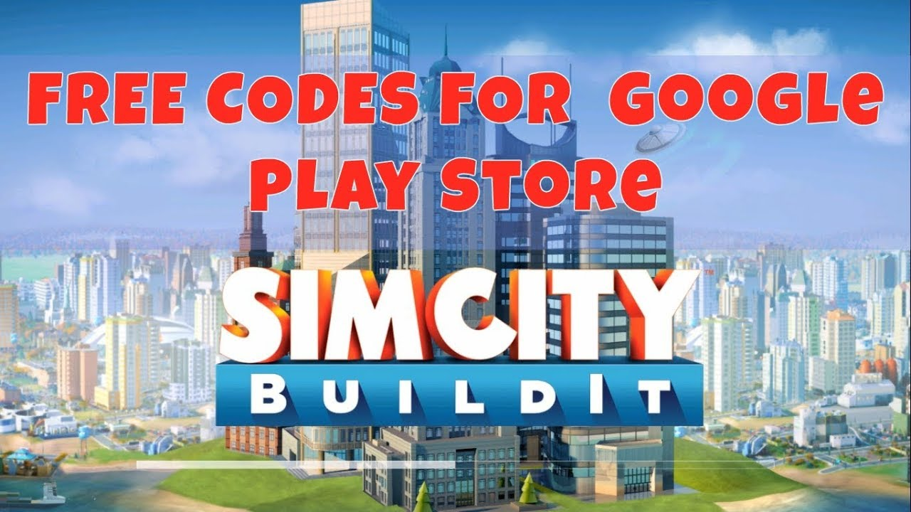 40 FREE CODES for SIMCITY BUILD IT! CODES IN THE DESCRIPTION! Redeem in  Google Play Store!