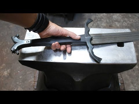 Forging a Witcher 3 sword, the complete movie.