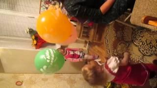 День Рождения. 2 года. Шарики.(, 2014-02-21T06:35:40.000Z)