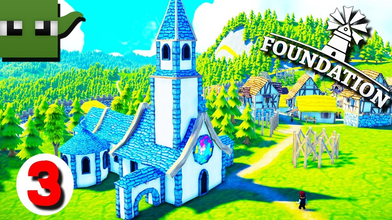 Foundation Polymorph Games foundation - medieval city building game #3 church building
