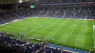 CROWD VIEW Mahrez's Late Miss & Chelsea Celebrate Final Whistle In Porto Champions League Final 2021