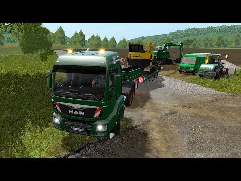 Farming Simulator 17 - Forestry and Farming on The Valley The Old Farm 081 thumbnail