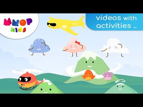 up-in-the-sky- -clouds,-imagination-and-birds,-english-song- -mnop-kids