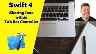 Swift4: Sharing Data Model across Views in Tab Bar Controller