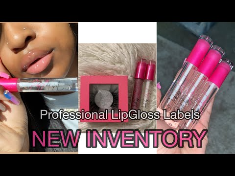 ENTREPRENEUR LIFE 9: PRINTED LIPGLOSS TUBES(NO STICKER)+NEW INVENTORY!!
