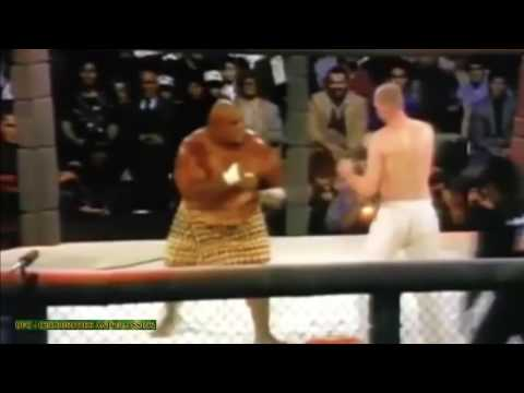 FIRST UFC KO EVER  GERARD GORDEAU VS TEILA TULI