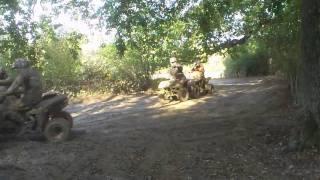 quad bike drifting at pembury