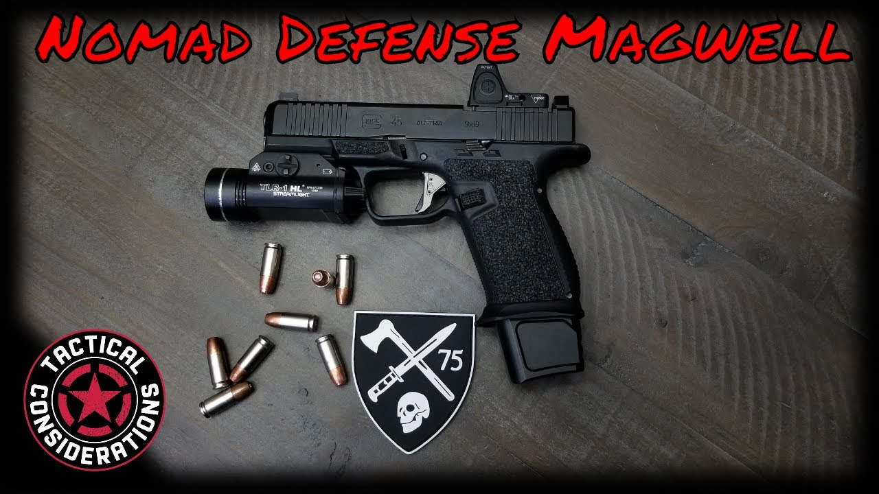 Nomad Defense Magwell It Has Finally Come