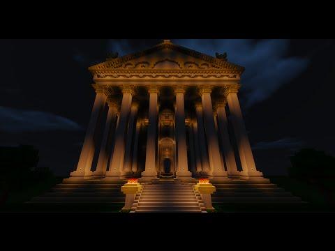 Minecraft Architecture: Neoclassical greek/roman temple