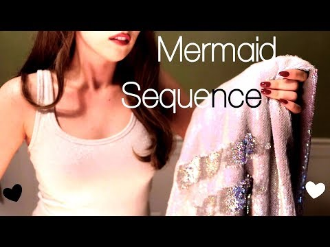 ASMR SUPER SATISFYING Mermaid Fabric Sounds For Your Listening and Viewing Pleasure (No Talking)