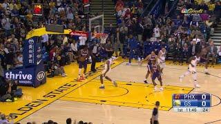 1st Quarter, One Box Video: Golden State Warriors vs. Phoenix Suns