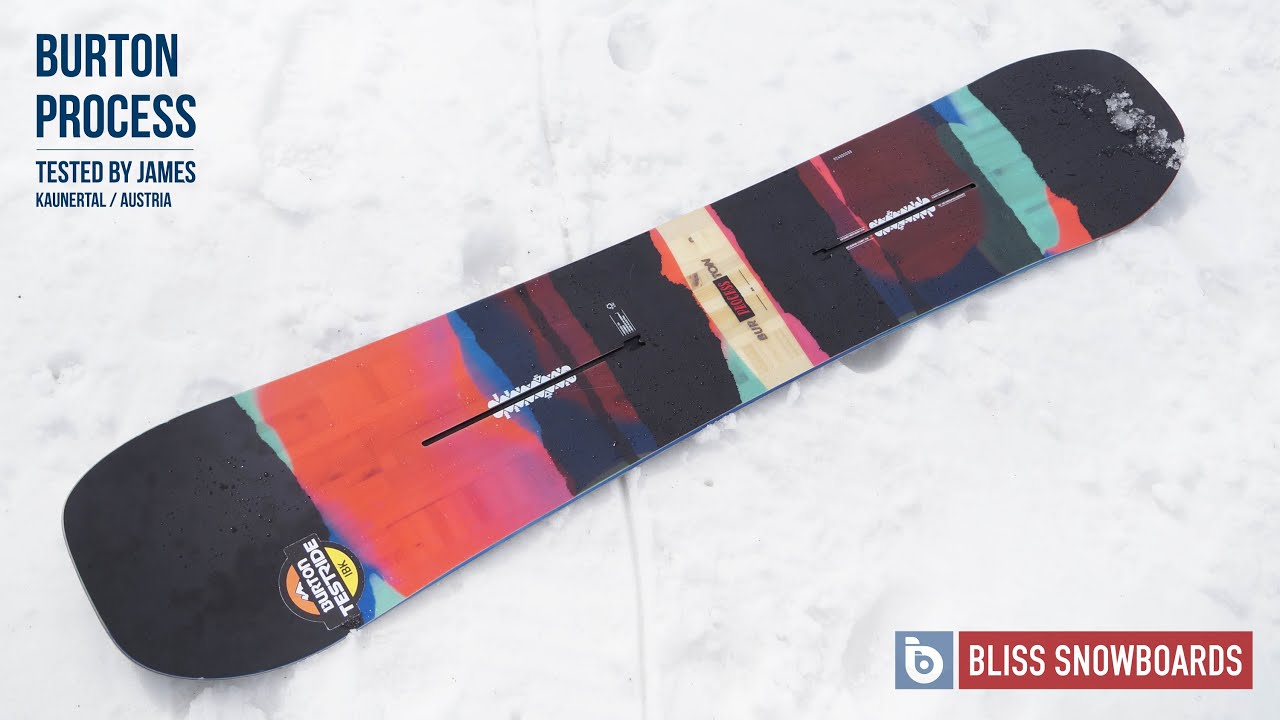 hämmästyttävä hinta säästää uusi aito Burton Process 2016 Snowboard Review By James At Bliss Snowboards