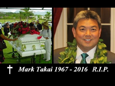 Mark Takai Dead at age 49 RIP Funeral announcement