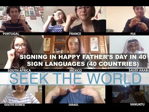 How to say Happy Father's Day in 17 different languages