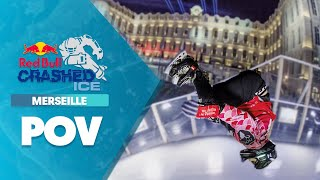 GoPro View: Dunne's Heated Battle for 1st at Crashed Ice Marseille Finals