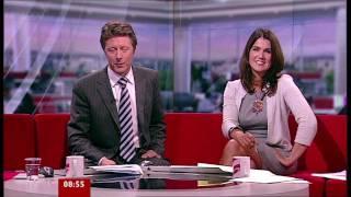 Susanna Reid - Sumptuous In Grey Dress - 07-Oct-11
