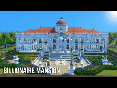 The Sims 4 Speed Build - Billionaire Mansion | 5K subs GIVEAWAY