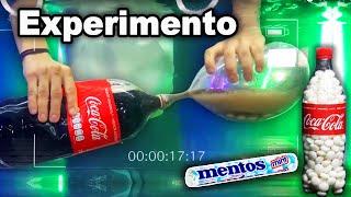 Coca y Mentos dentro de un Globo *BAJO EL AGUA* - Satisfactorio