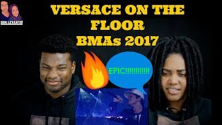 Bruno Mars - Versace on the Floor [Billboard Music Awards 2017| REACTION