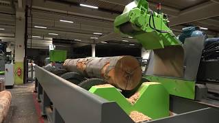 DEBARKER - Log debarking machine MEBOR SLH 1200