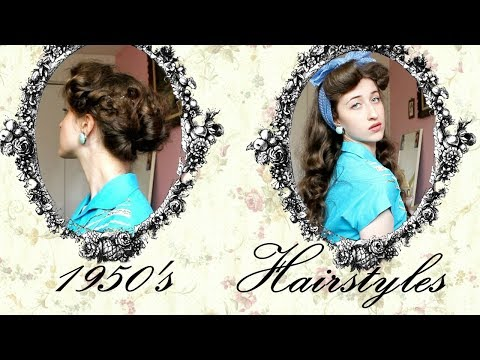 2 1950's HAIRSTYLES FOR LONG HAIR thumbnail
