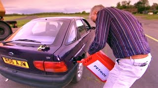 Putting Petrol Into A Diesel Car #TBT - Fifth Gear