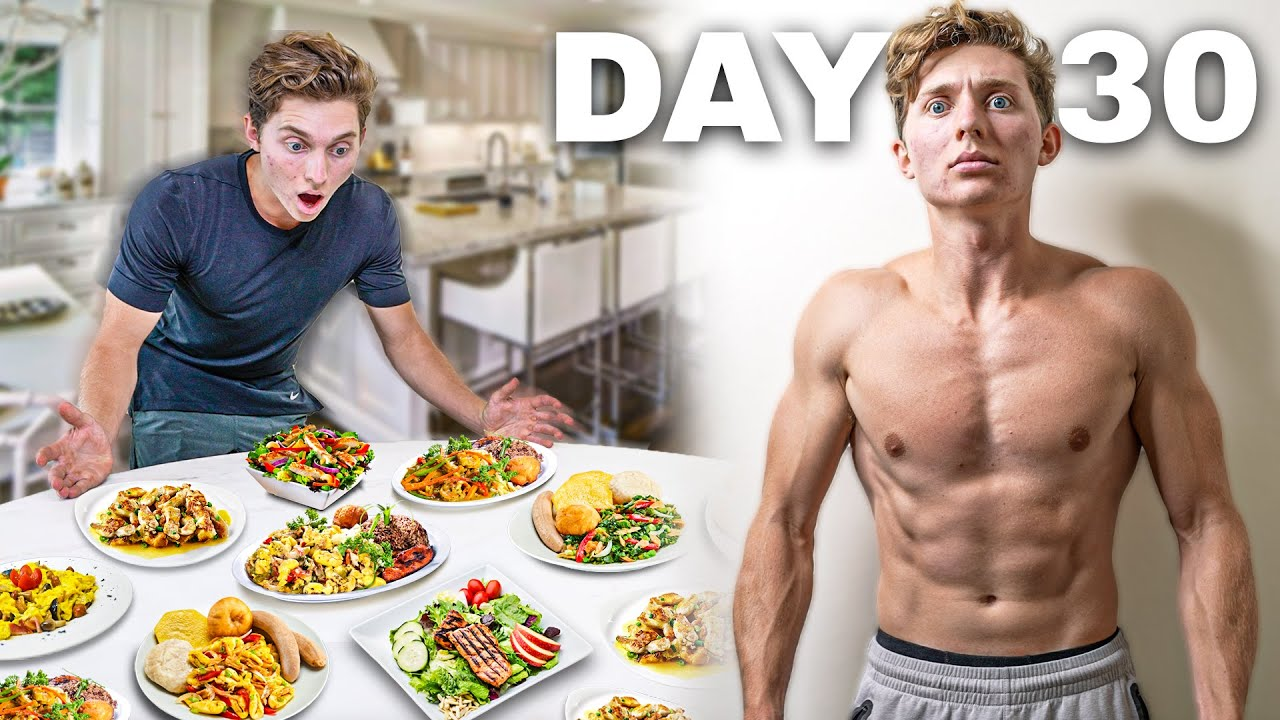 I BULKED For 30 Days (3,500+ Calories Daily)