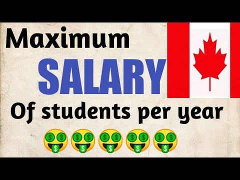 How Much Money Can International Students In Canada Earn By Part Time Jobs MAXIMUM. Must See!!!