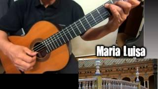 Maria Luisa - Classical Guitar - Played-DONGHWAN_ NOH