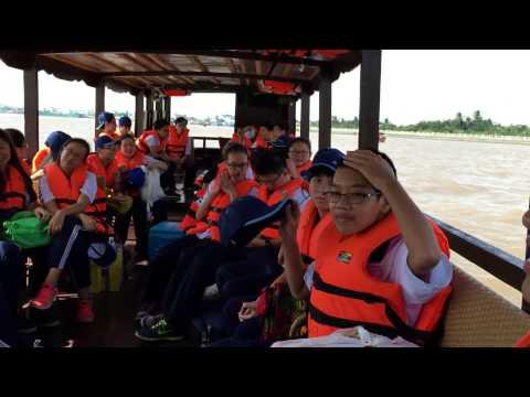 chuyen di tham quan Ben Tre lop 9/8 truong THCS Vo Truong Toan Q1