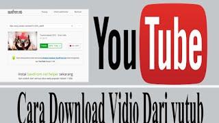 Gambar cover Cara download vidio dari youtube