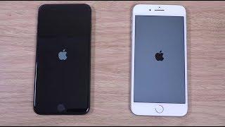 iPhone 8 Plus vs iPhone 7 Plus iOS 11 - Speed Test!