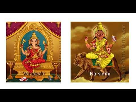 Introduction to Hindu pantheon - Saptamatrika
