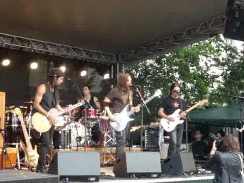 X Alfonso - Cuban rock live in Sweden