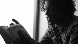 """Lemn Sissay - """"The Battle of Adwa"""" Poetry ready Addis Ababa, Ethiopia"""