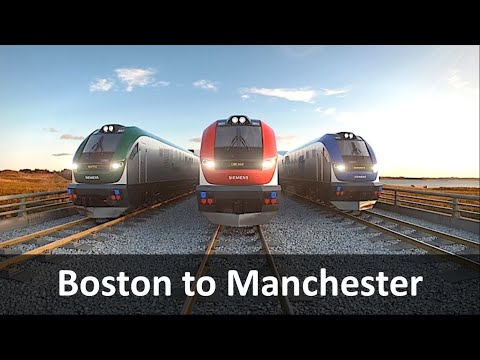 Boston to Manchester Express Rail Link