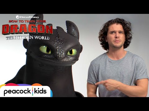 Game of Thrones' Kit Harington finds a new dragon to audition with. Watch his funny video with Toothless