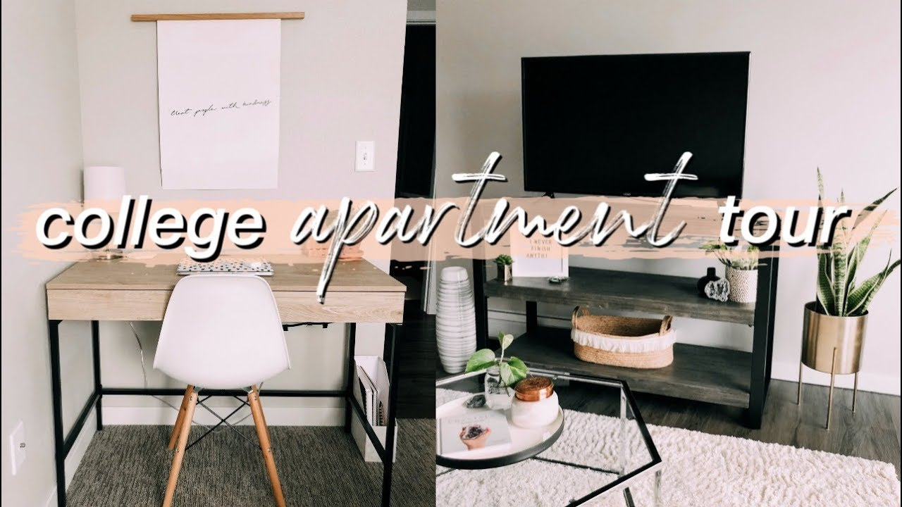 college apartment tour ☆ 2019 - YouTube