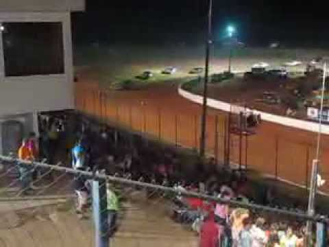 PureStock Feature Laps 8 to 15 (Finish) Cochran Motor Speedway