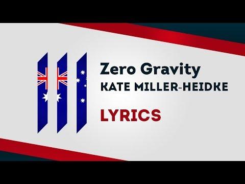 Australia Eurovision 2019: Zero Gravity - Kate Miller-Heidke [Lyrics] 🇦🇺