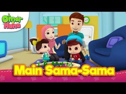 Lagu Kanak-Kanak Islam | Main Sama-Sama  | Omar & Hana | Diceriakan Oleh Wildan