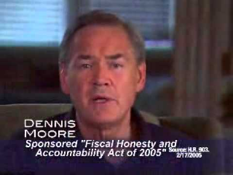 Dennis Moore 2006 Kansas US House 3rd District Democrat.avi
