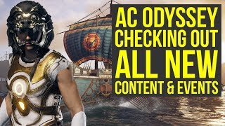 Assassin's Creed Odyssey DLC - Checking Out All The New Stuff (Weekly Reset June 18th)