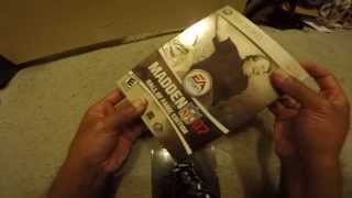 THROWBACK MADDEN NFL 07 HALL OF FAME EDITION UNBOXING XBOX 360 720p HD 12/18/2014