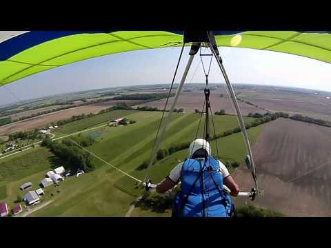Hang Gliding at WesMar 051912