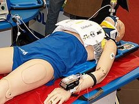 AutoPulse: Automated, portable, battery-powered cardiopulmonary resuscitation