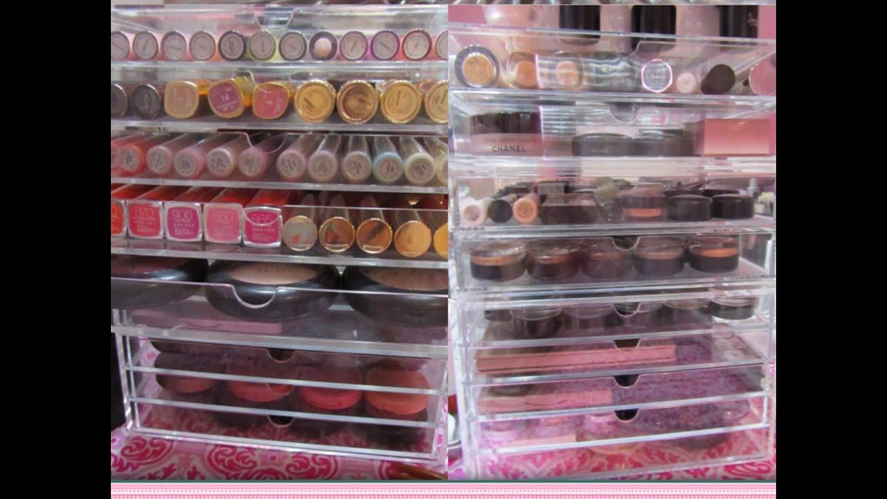 Muji Makeup Organization and Storage / Whatu0027s in My Muji Drawers / Muji Acrylic Case 2 and 5 Drawers - YouTube & Muji Makeup Organization and Storage / Whatu0027s in My Muji Drawers ...