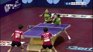 2015 WTTC (WD-R32) FUKUHARA Ai/WAKAMIYA Misako - RI Mi Gyong/RI Myong Sun [HD] [Full Match/Chinese]
