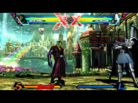Como Hacer combos de Ultimate Marvel vs Capcom 3